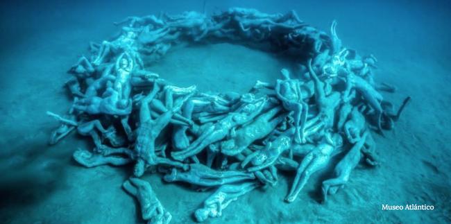 Vùng biển khiến ai cũng phải lạnh người khi nhìn thấy cảnh tượng ở dưới đáy - ảnh 1
