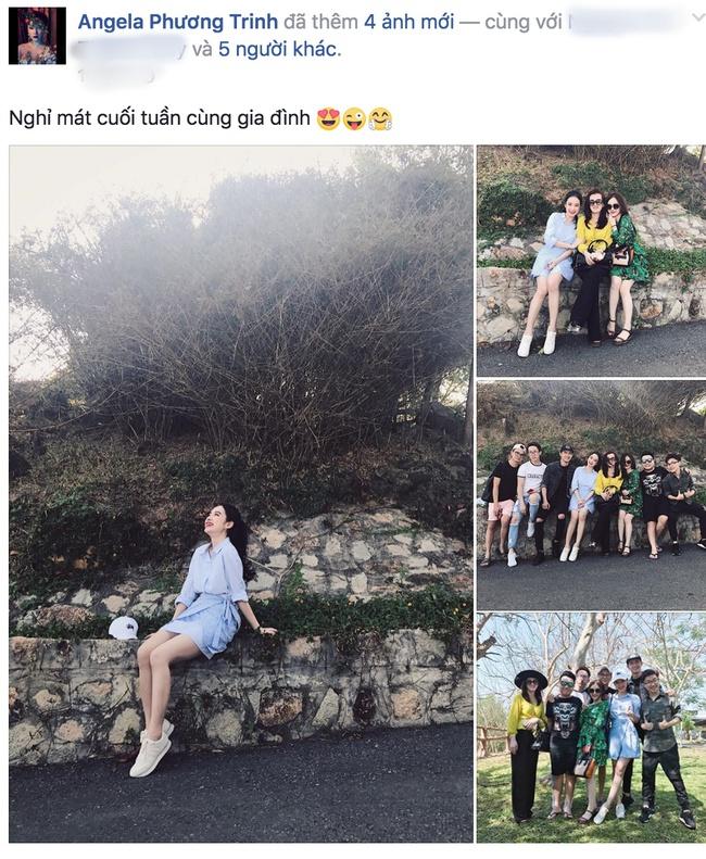 Võ Cảnh đi chơi cùng và thân thiết bên gia đình Angela Phương Trinh trước thềm valentine - Ảnh 1.
