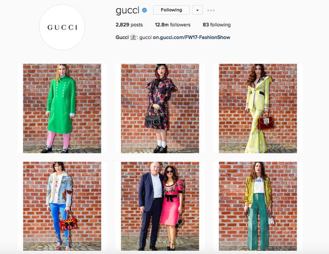 Vừa xôn xao tin đồn bị bơ vì mặc xấu, Instagram của Gucci lập tức đăng ảnh của Hồ Ngọc Hà - Ảnh 2.