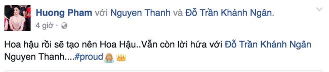 Khánh Ngân đăng quang Hoa khôi, Phạm Hương nhắc lại câu tuyên bố từng bị Hà Hồ phản bác - Ảnh 1.