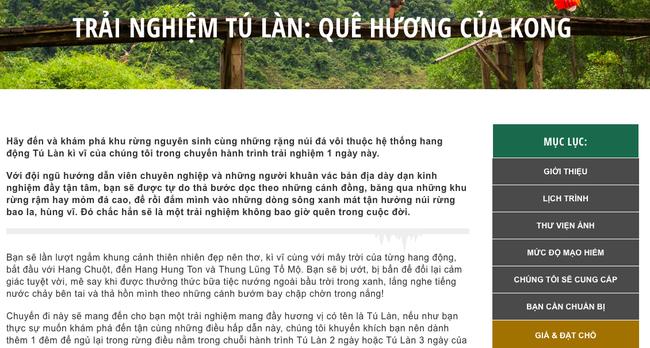 Đã có tour khám phá từ A-Z các điểm quay Kong: Skull Island ở Quảng Bình với mức giá khá mềm - Ảnh 2.