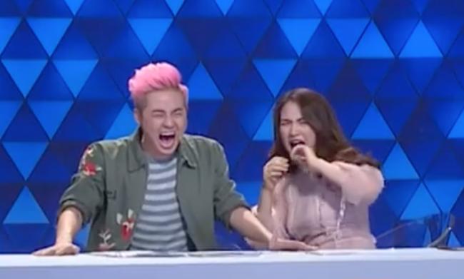 Hòa Minzy, Thanh Duy hoảng sợ thực sự với màn đâm giáo vào bụng - Ảnh 7.