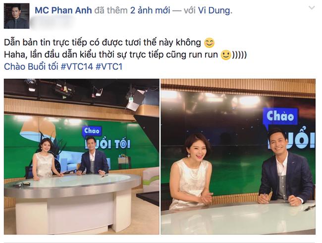 MC Phan Anh lần đầu dẫn thời sự sau tin đồn cấm sóng VTV - Ảnh 1.