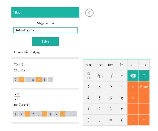 Dùng thử Maths Solver, ứng dụng giải toán phổ thông đang gây sốt của người Việt làm - Ảnh 3.