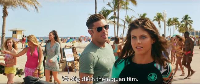Chết cười với trailer nhãn đỏ của Baywatch: Đội cứu hộ bãi biển - Ảnh 4.