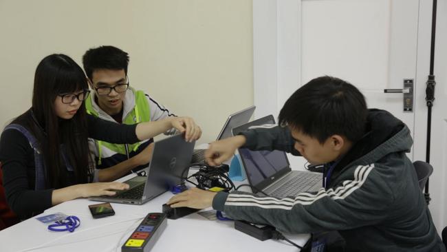 Khai mạc UET Hackathon 2017 - Nơi các anh tài công nghệ được hội tụ và thỏa sức sáng tạo - Ảnh 9.