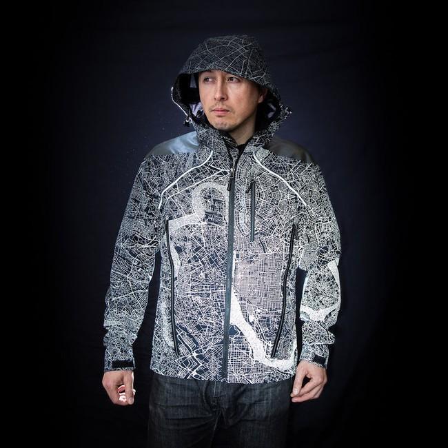 Áo khoác kiêm bản đồ phát sáng dành cho người mù đường bẩm sinh - Ảnh 1.