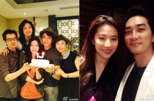 Chưa cưới, Lưu Diệc Phi đã có thai với Song Seung Hun? - Ảnh 3.
