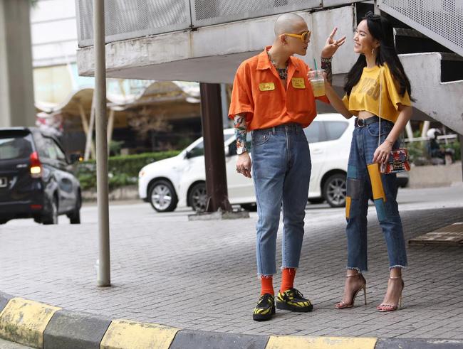 An Nguy, Quỳnh Anh Shyn, Châu Bùi... đồng loạt phô diễn street style đáng ngắm trên đất Malaysia - Ảnh 13.
