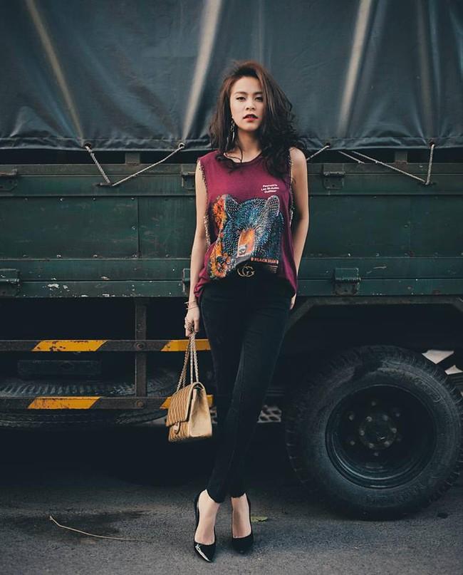Midu, Mai Ngô, Lan Khuê sexy không đối thủ trong Top street style tuần qua - Ảnh 8.