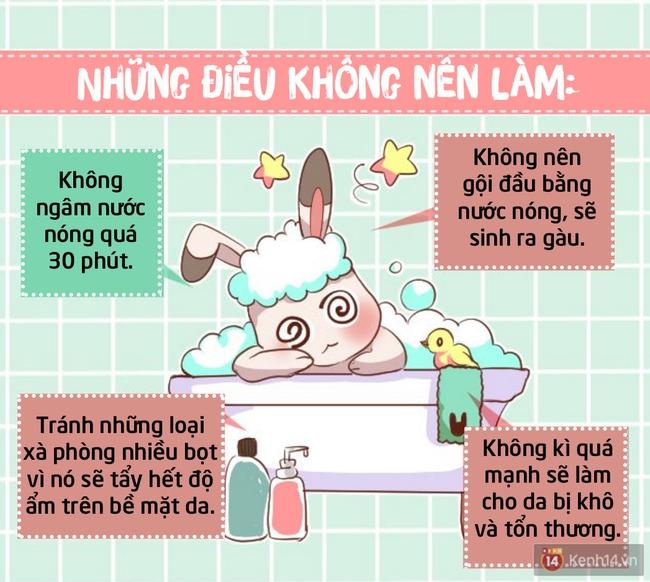 2017 rồi, nhất định phải biết tắm nước nóng đúng cách để da không tổn thương và tốt cho sức khoẻ - Ảnh 3.
