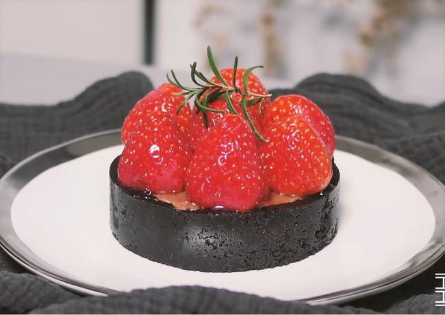 Làm tart chocolate dâu tây ngọt ngào mà chẳng cần lò nướng - Ảnh 12.