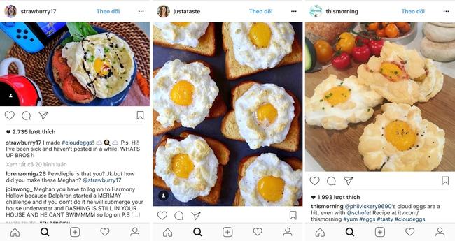 Trứng mây - món ăn đang hót hòn họt trên instagram thực sự là gì? - Ảnh 1.
