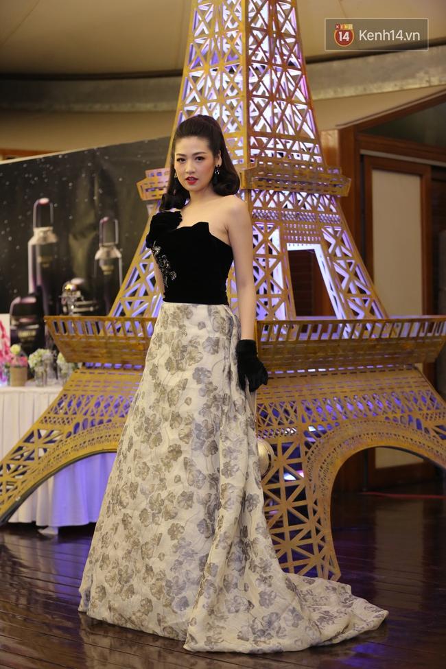 Hoa hậu Mỹ Linh đẹp dịu dàng, Tú Anh dừ bất ngờ, Mai Phương Thúy tái xuất trên thảm đỏ show Hoàng Hải - Ảnh 4.