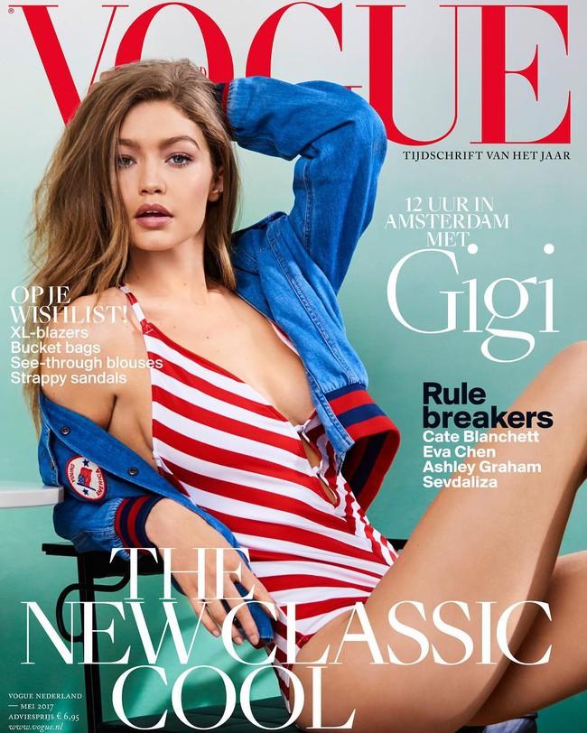 Chân thon dài, vòng 1 nóng bỏng, Gigi Hadid mặc áo thun quần jean mà vẫn sexy khó cưỡng - Ảnh 10.