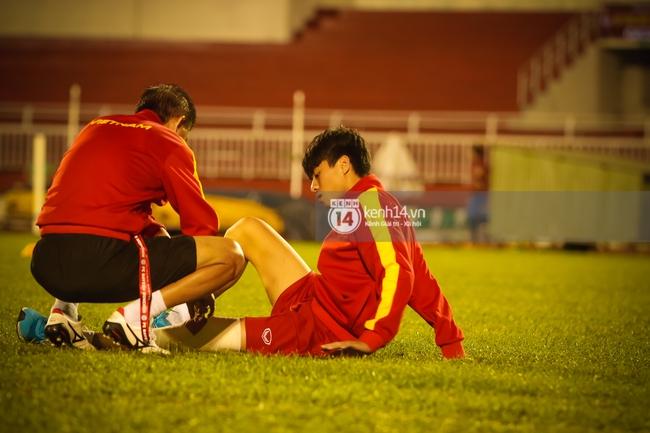 Vỡ mộng World Cup, thần đồng của bầu Đức buồn não nề trong buổi tập của U20 Việt Nam - Ảnh 5.