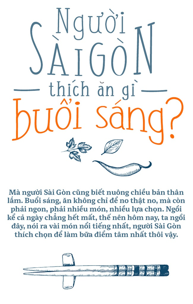 Người Sài Gòn thích ăn gì buổi sáng? - Ảnh 1.