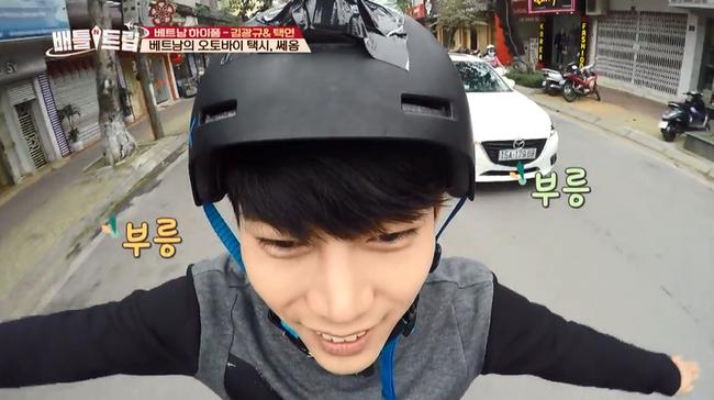 Clip: Taecyeon (2PM) nhăn mặt khi ăn phở cay, thích thú đi nhậu tại Việt Nam! - Ảnh 10.