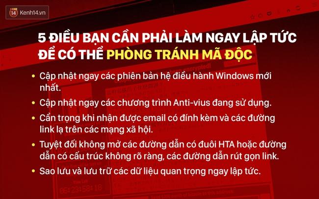 5 điều bạn cần làm ngay lập tức để phòng tránh mã độc WannaCry - Ảnh 2.