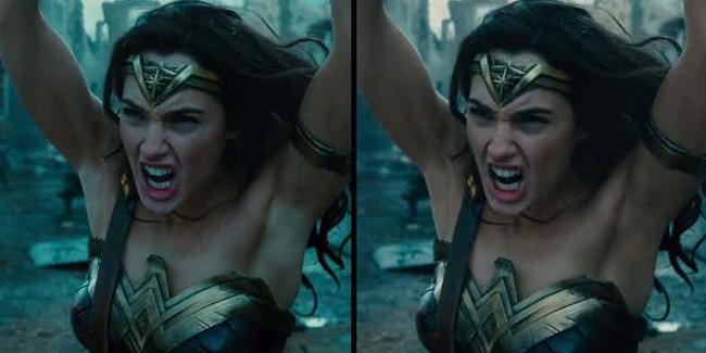 """Wonder Woman đã được """"sửa nách"""" trong trailer mới - Ảnh 1."""