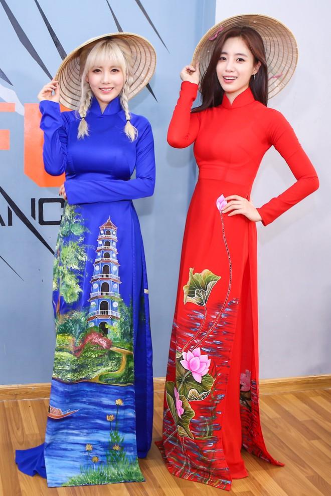 Ngắm các mỹ nhân thế giới đẹp dịu dàng trong tà áo dài Việt Nam - Ảnh 5.