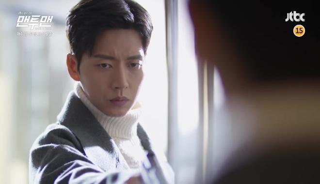 Man to Man: Vừa đeo nhẫn đôi, Park Hae Jin đã rút súng bắn người yêu! - Ảnh 1.