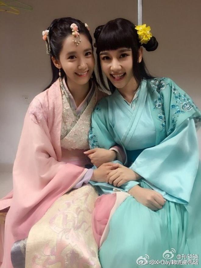 Đứng chung một khung hình, mĩ nhân Hoa - Hàn dìm nhau đến thế nào? - ảnh 4