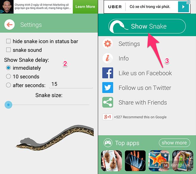 Hướng dẫn làm trò rắn bò ra ngoài màn hình đang xôn xao Facebook mấy ngày qua - Ảnh 3.