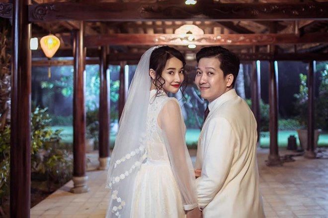 Lại thêm loạt ảnh Trường Giang và Nhã Phương mặc đồ cưới gây xôn xao cộng đồng mạng - Ảnh 5.
