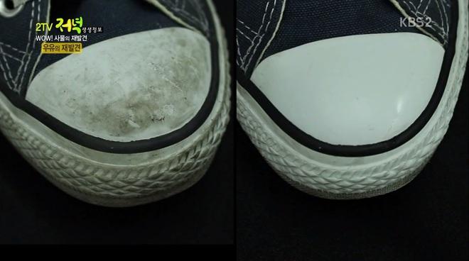Tận dụng sữa hỏng để tẩy vết bẩn trên giày, chuyện như đùa nhưng hiệu quả vô cùng - Ảnh 7.