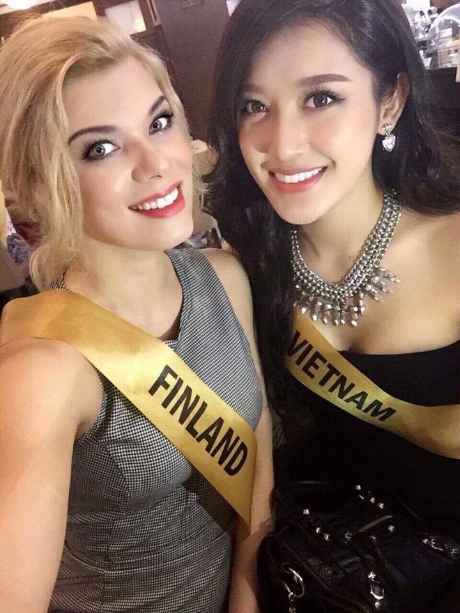 Nhanh chóng lấy lại phong độ, Huyền My quay trở lại top 10 bình chọn của Miss Grand International 2017 - Ảnh 2.