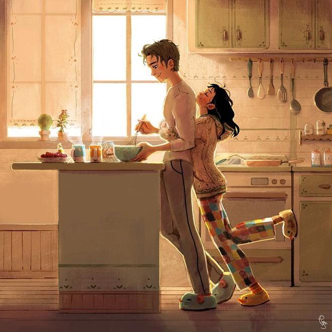 Bộ tranh: Tình yêu là khi chúng ta có thể tìm thấy ai đó đồng điệu để sẻ chia cuộc sống này - Ảnh 1.