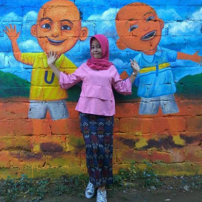 Khu ổ chuột ở Indonesia bỗng lột xác chỉ sau thời gian ngắn, du khách tấp nập ghé thăm - Ảnh 19.
