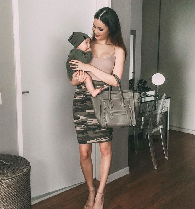Bà mẹ bỉm sữa Singapore gây bão Facebook Việt vì vẻ đẹp quá gợi cảm, về dáng chỉ 3 tuần sau khi sinh đôi 16