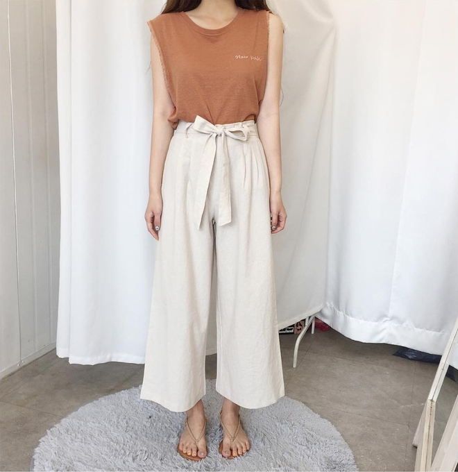 Ngay cả khi không thích quần vải, các cô nàng cũng sẽ đổ đứ đừ trước kiểu quần thắt nơ xinh xắn này - Ảnh 11.