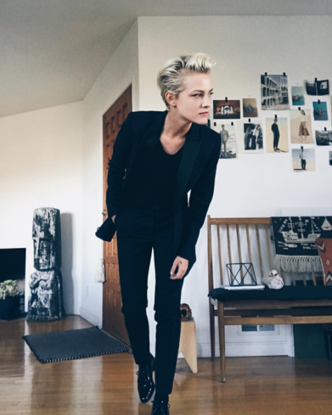 Vẻ ngoài không thể không mê của cô nàng tomboy hot nhất nhì Instagram - ảnh 15
