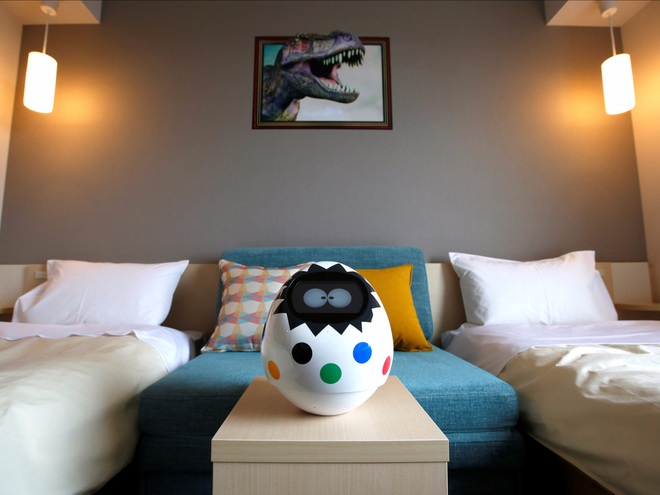 Một khách sạn ở Nhật Bản đang bị robot chiếm đóng, đây là những gì bạn sẽ thấy ở khách sạn này - ảnh 11