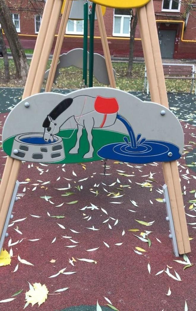 12 thảm họa sân chơi trẻ em của những kiến trúc sư không có tâm cho lắm - Ảnh 5.