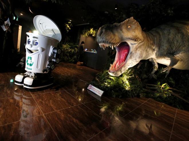 Một khách sạn ở Nhật Bản đang bị robot chiếm đóng, đây là những gì bạn sẽ thấy ở khách sạn này - ảnh 12