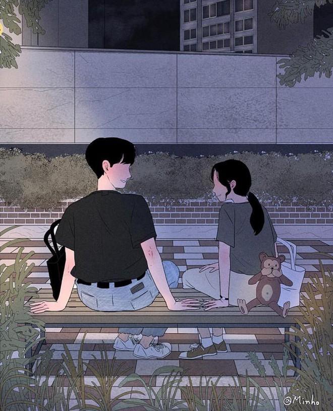 Bộ tranh: Bất cứ cô gái nào cũng mong muốn một tình yêu, dù rằng chỉ giản dị như thế này thôi! - Ảnh 21.