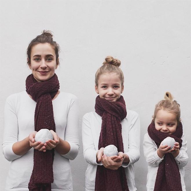 Tương lai nhất định phải có con gái để được trưng diện cùng nhau - nghĩ mà đáng yêu muốn xỉu! - Ảnh 1
