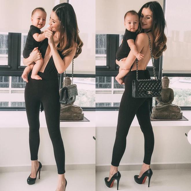 Bà mẹ bỉm sữa Singapore gây bão Facebook Việt vì vẻ đẹp quá gợi cảm, về dáng chỉ 3 tuần sau khi sinh đôi 20