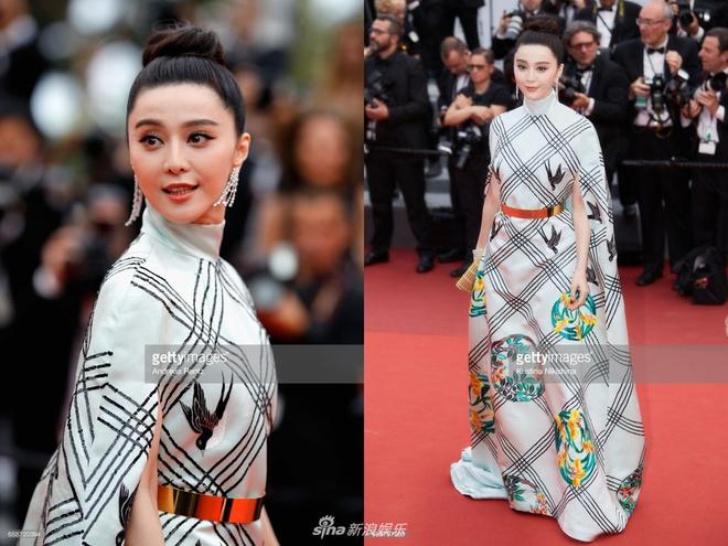 Mang 11 chiếc vali tới Cannes, bảo sao Phạm Băng Băng luôn biến hóa đa dạng trên thảm đỏ - Ảnh 8.