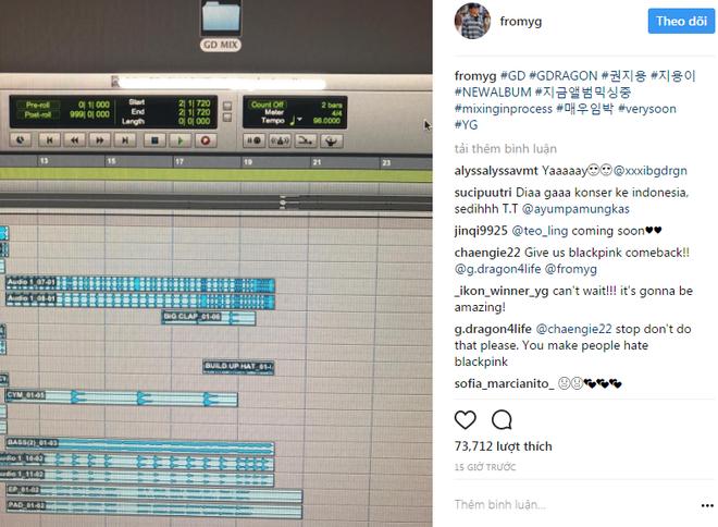 Bố Yang tuyên bố: Taeyang sẽ trở lại ngay sau G-Dragon