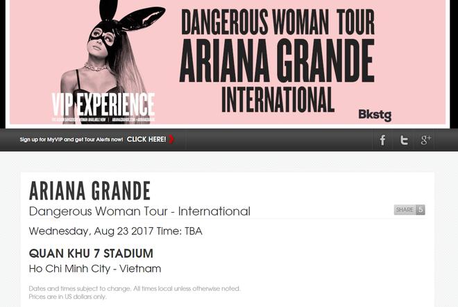 Sốt xình xịch Ariana Grande đi tour sang Việt Nam vào tháng 8 - Ảnh 4.