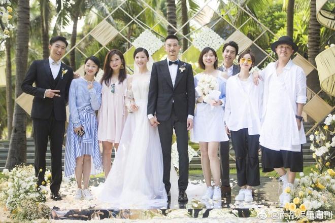 Đám cưới nhà người ta nhưng netizen chỉ chú ý đến đôi bạn thân Triệu Vy - Tô Hữu Bằng lâu lắm mới hội ngộ - Ảnh 12.