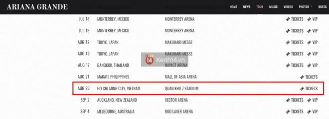 Vé concert Ariana Grande tại Việt Nam: Từ 790 nghìn đến 15,9 triệu VNĐ - Ảnh 5.
