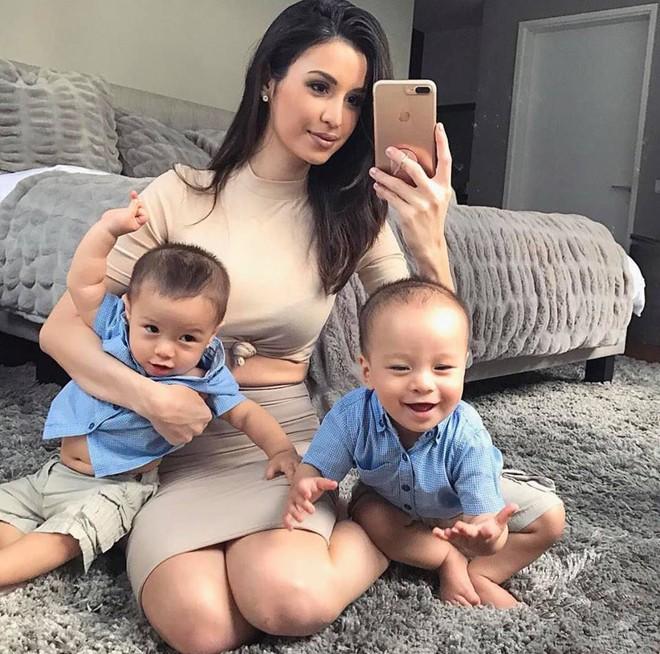Bà mẹ bỉm sữa Singapore gây bão Facebook Việt vì vẻ đẹp quá gợi cảm, về dáng chỉ 3 tuần sau khi sinh đôi 11