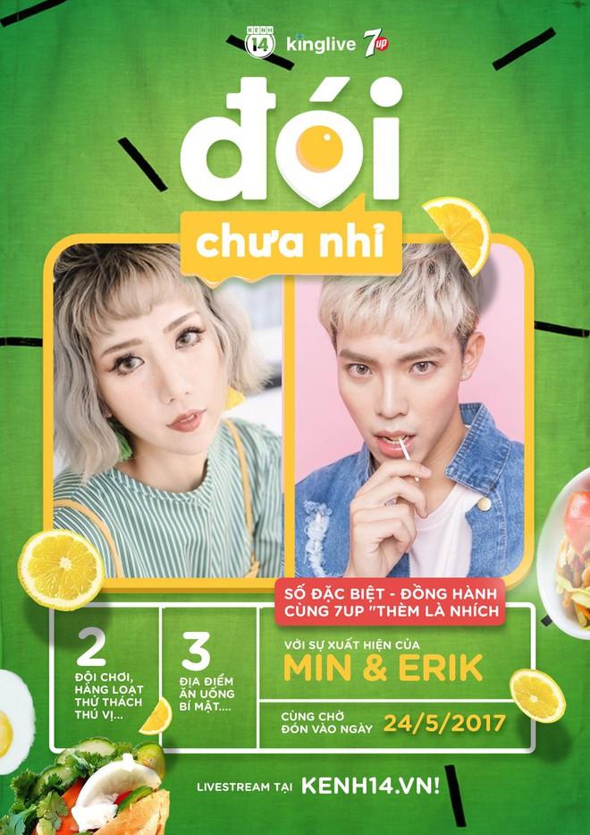 Vừa ghen tuông với nhau trong MV mới, Min và Erik đã tiếp tục đối đầu vì... ăn! - Ảnh 9.