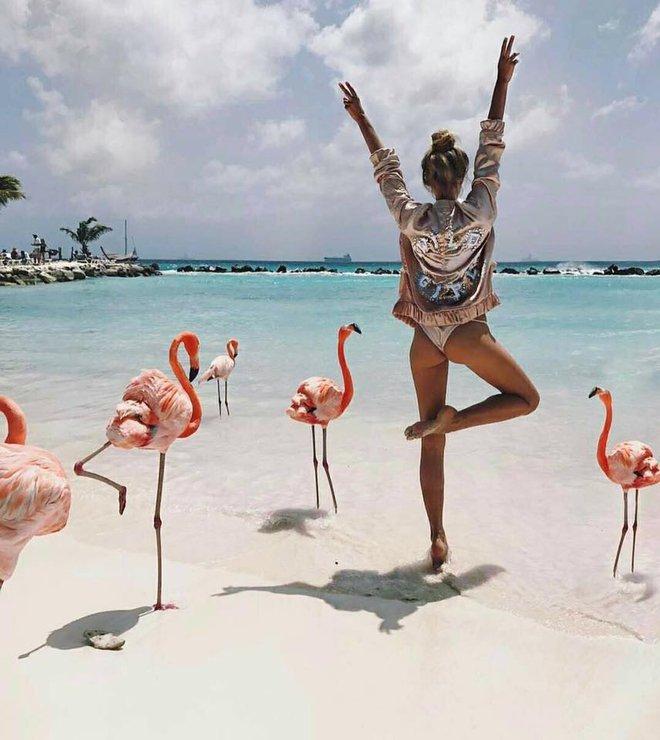 Nóng như thế này chỉ muốn đến ngay thiên đường Aruba tắm biển, thỏa thích chụp ảnh sống ảo cùng hồng hạc mà thôi! - Ảnh 10.